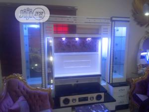 T.V Stand With Background | Furniture for sale in Lagos State, Amuwo-Odofin