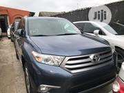 Toyota Highlander 2013 Limited 3.5l 4WD Blue   Cars for sale in Lagos State, Ikeja