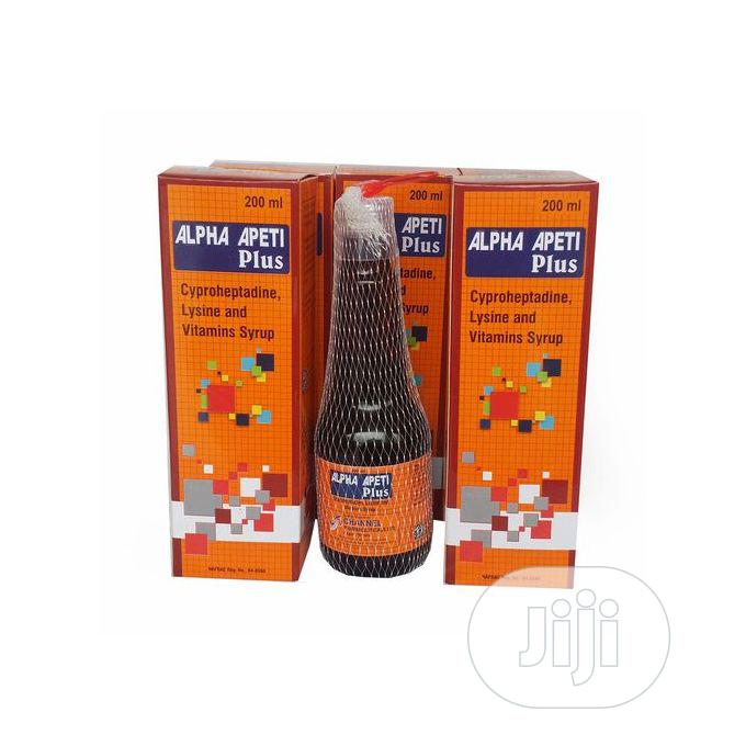 Alpha Apeti Plus Weight Gain, Breast, Butts and Hips Enlargement-3bott