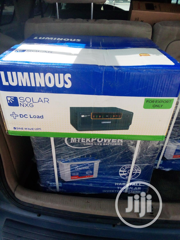 1.5kva Inverter Luminous Solar Hybrid   Solar Energy for sale in Ikeja, Lagos State, Nigeria