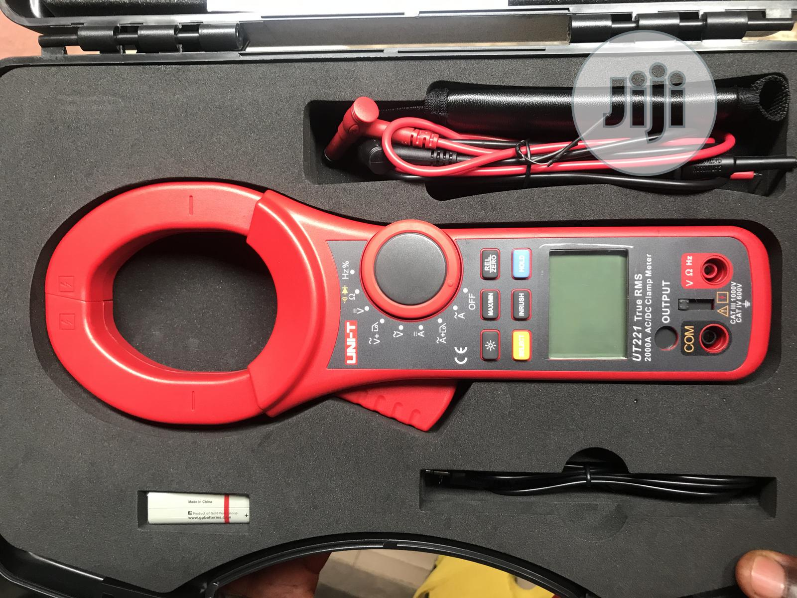 Clamp Meter UT221 , 2000A AC/DC True RMS | Measuring & Layout Tools for sale in Ojo, Lagos State, Nigeria