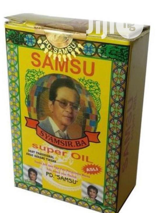 Samsu Natural Delay And Premature Ejaculation Oil For Men