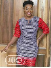 Ankara Dress With Cord Lace | Clothing for sale in Lagos State, Lagos Island