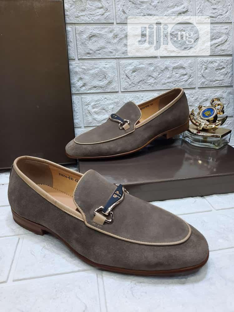 Suede Leather Shoes Gucci Brand