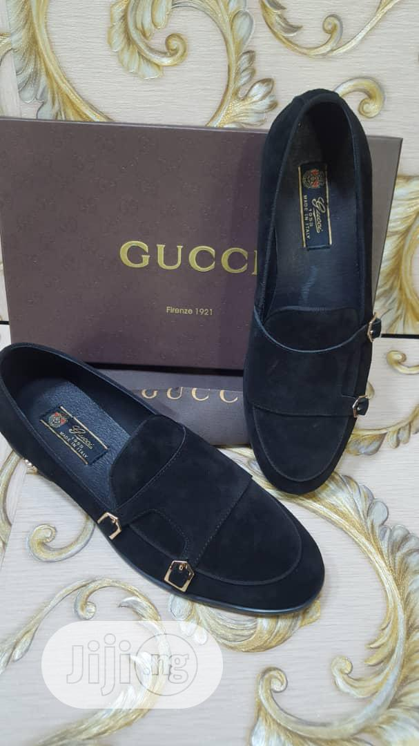 Suede Leather Shoes Gucci Brand   Shoes for sale in Lagos Island, Lagos State, Nigeria