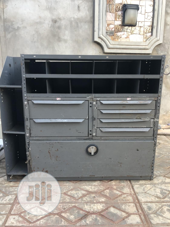 Industrial Empty Tool Box