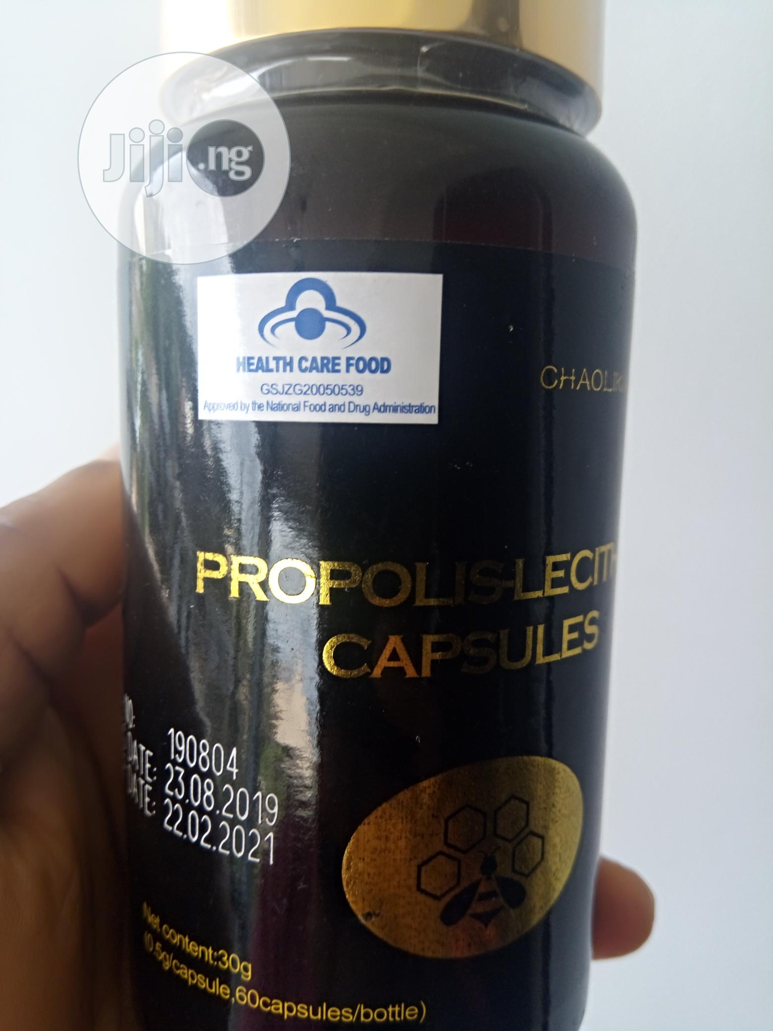 With Propolis Lecithin Capsules You Can Treat Infections Permanently | Vitamins & Supplements for sale in Lokogoma, Abuja (FCT) State, Nigeria