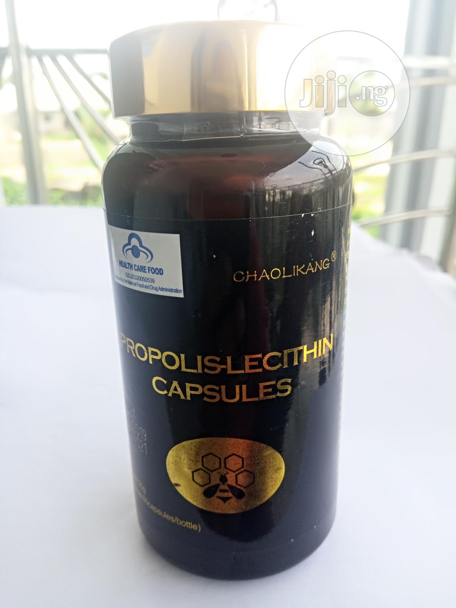 With Propolis Lecithin Capsules You Can Treat Infections Permanently