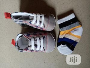 Newborn Shoe With Socks | Children's Shoes for sale in Lagos State, Apapa