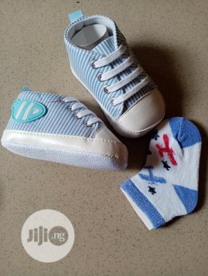 New Born Shoe With Socks | Children's Shoes for sale in Lagos State, Apapa