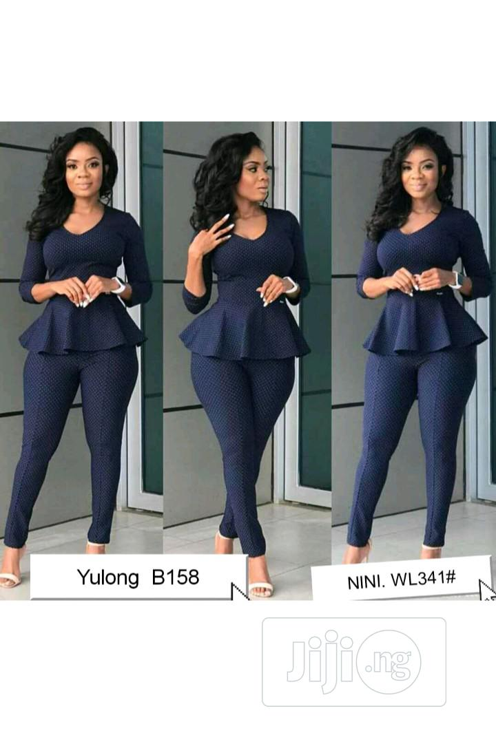 Female Formal Top and Trouser