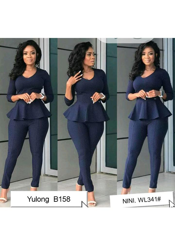 Female Formal Top and Trouser | Clothing for sale in Ikeja, Lagos State, Nigeria