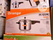 5 Orange Pressure Pot | Kitchen Appliances for sale in Lagos State, Lagos Island