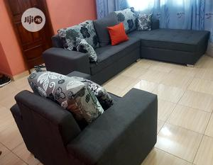 5 Seaters L Shape With Single | Furniture for sale in Lagos State, Ikorodu
