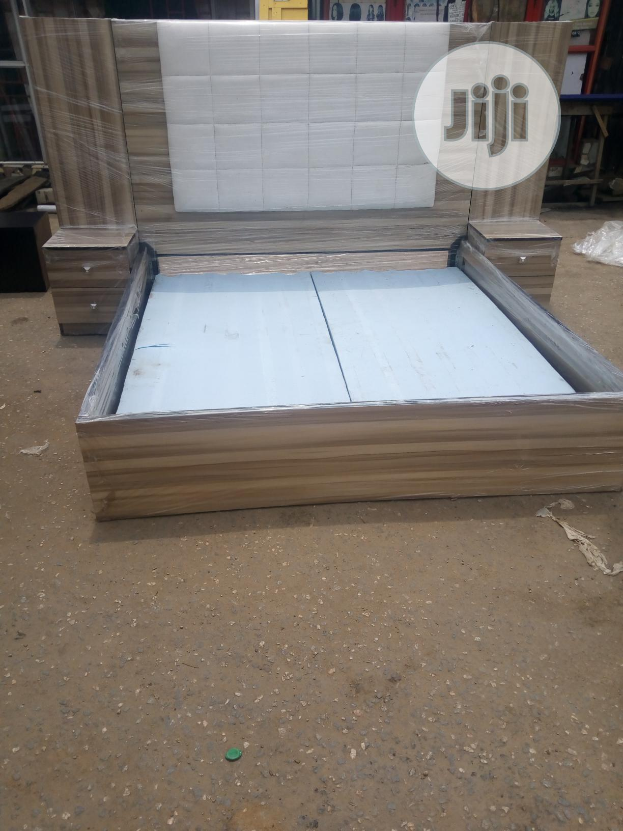 6ft X 6ft Bed Frame | Furniture for sale in Oshodi, Lagos State, Nigeria