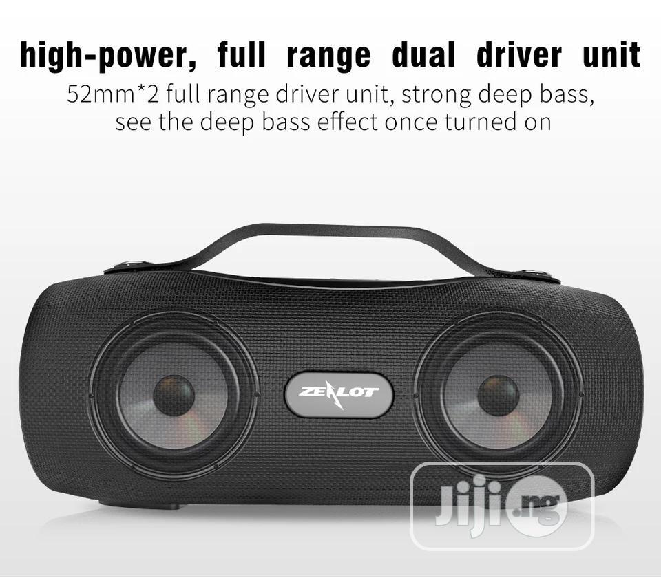 ZEALOT S29 Portable Speakers With Radio Wireless Bluetooer | Audio & Music Equipment for sale in Ikeja, Lagos State, Nigeria
