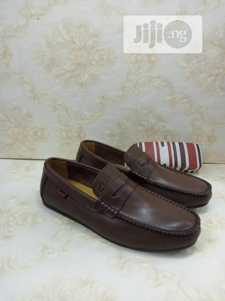 Clarks Loafers Flat Shoes Genuine Leather
