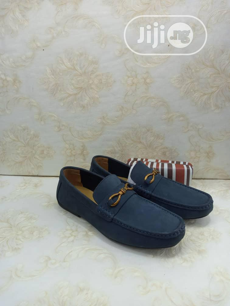 Clarks Leather Suede Loafers Flat Shoes   Shoes for sale in Lagos Island (Eko), Lagos State, Nigeria