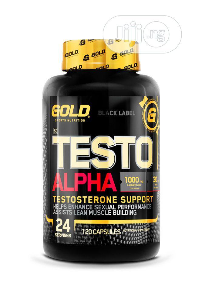 Alpha Testo Male Testosterone Sexual Boost