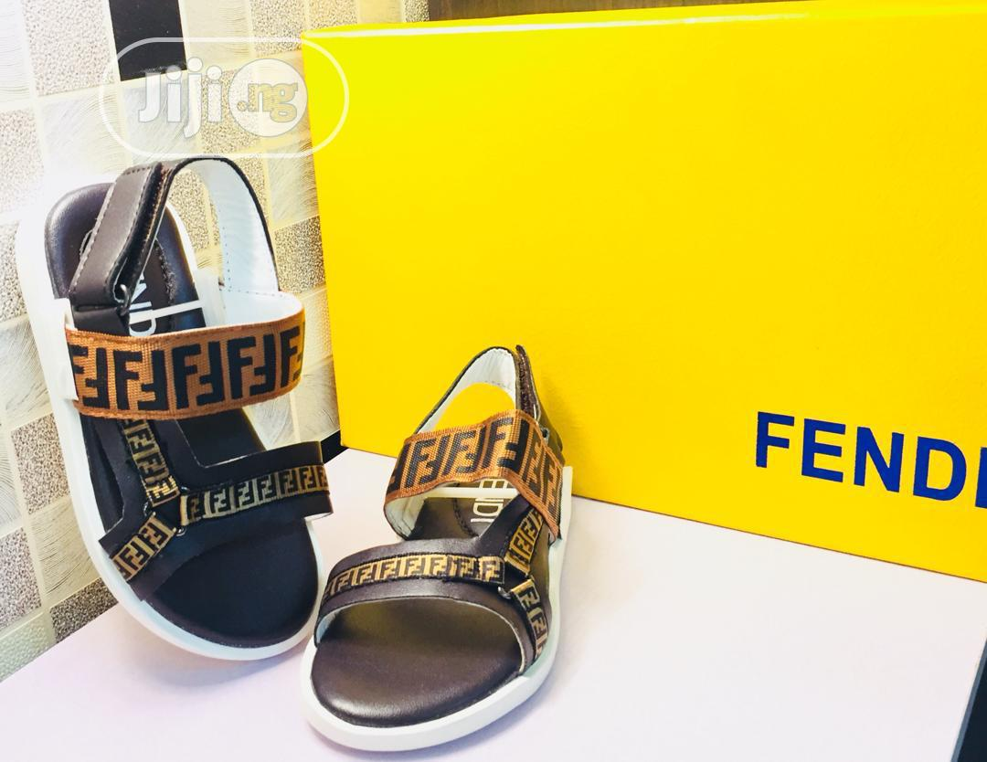 Fendi Unisex Sandals