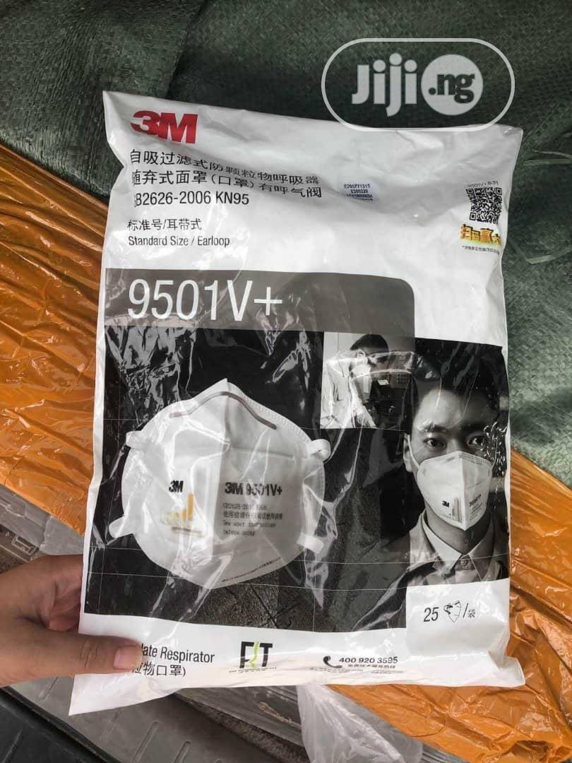 3m Nose Mask 9501v+ Series (25pcs In A Pack)