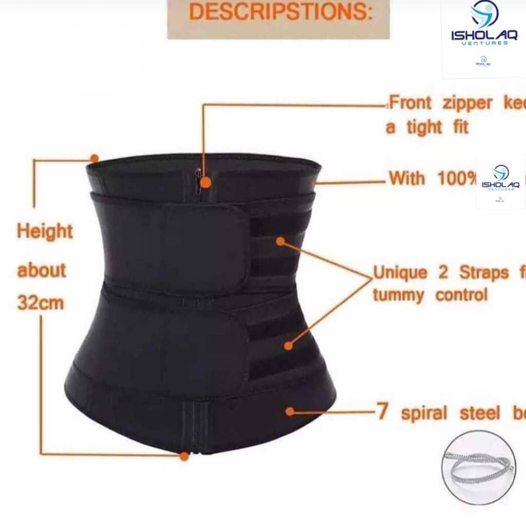 Waist And Tummy Trainer/Trimmer Double Compression Control Shapewear