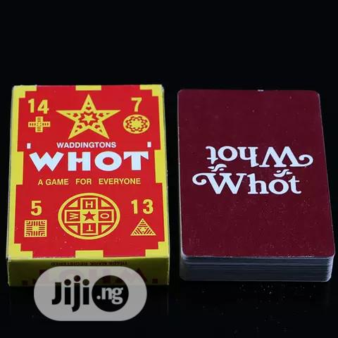 Whot Card A Game For Everyone 1box | Books & Games for sale in Lagos Island, Lagos State, Nigeria