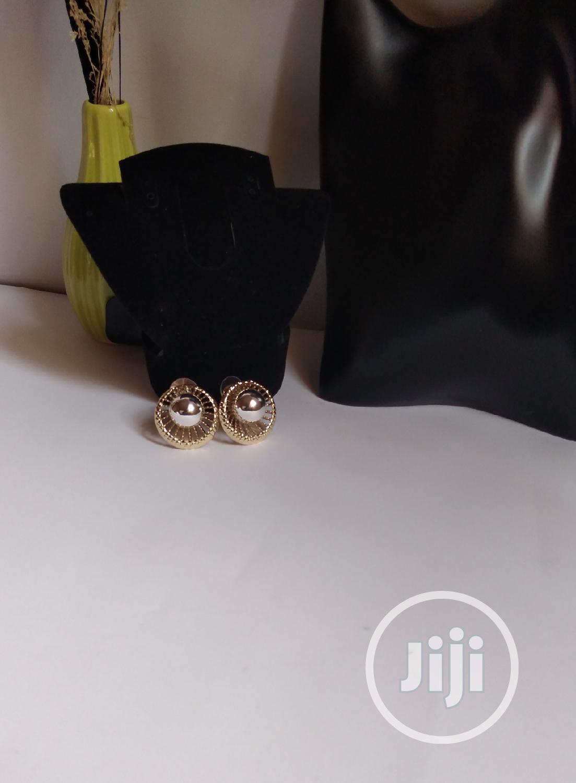 Two Tone Clip Earring