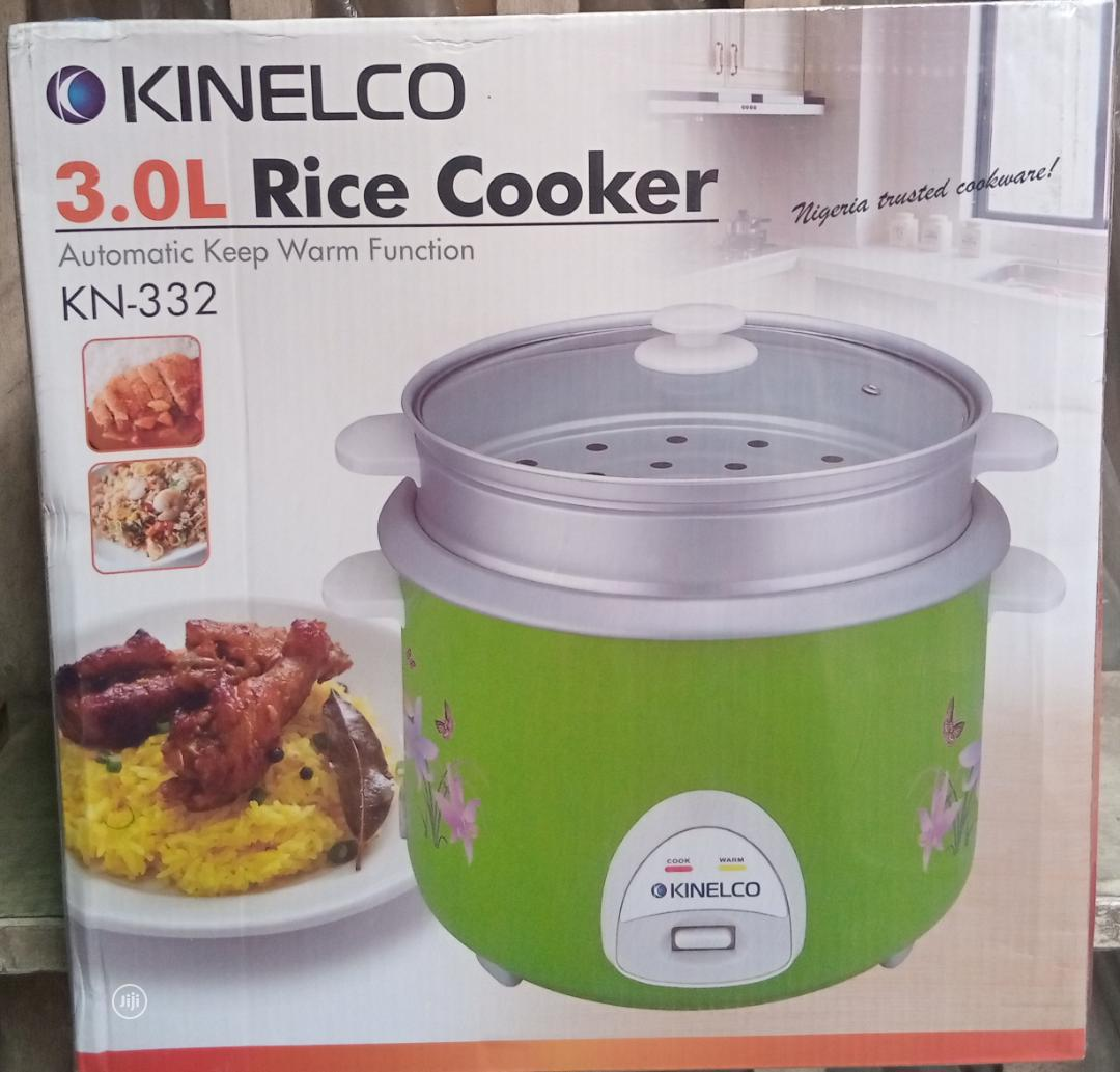 Quality Kinelco 3.0ltr Rice Cooker