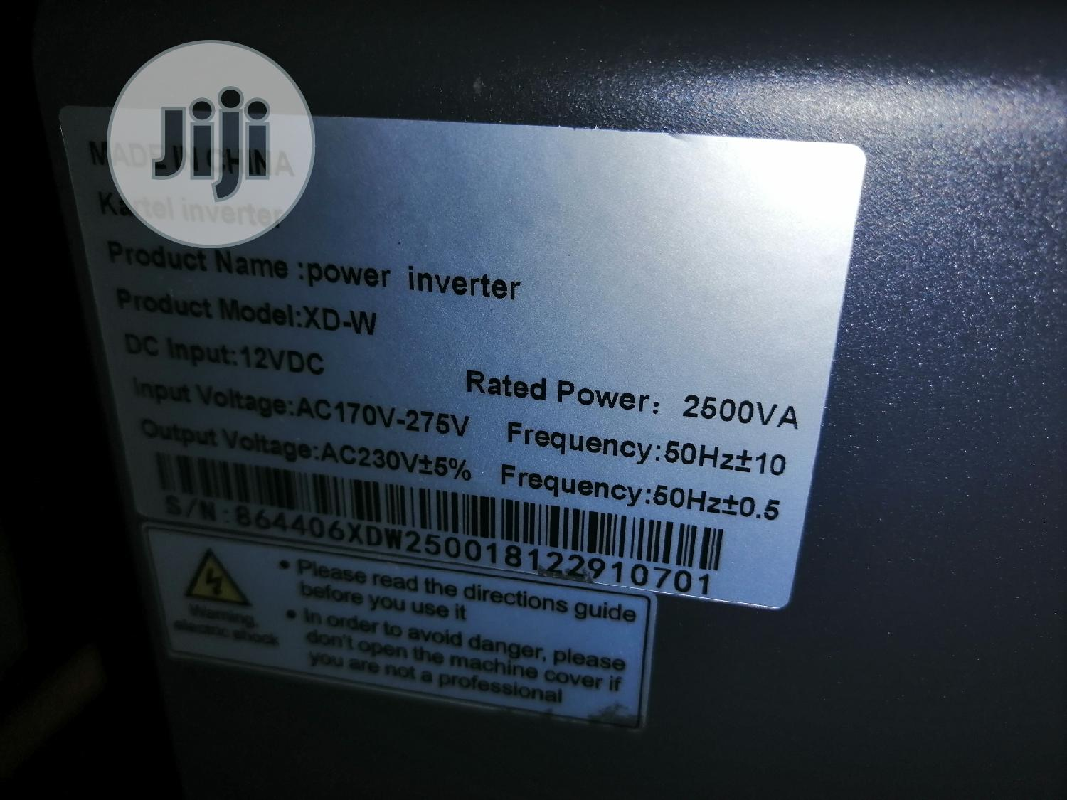 12V/2.5kva Kartel Inverter | Electrical Equipment for sale in Ajah, Lagos State, Nigeria