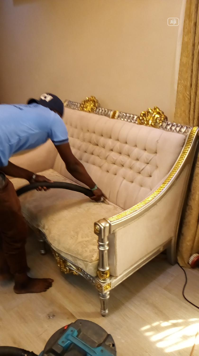 Chair Upholstery And Leather Cleaning And Maintenance | Cleaning Services for sale in Lekki Phase 1, Lagos State, Nigeria