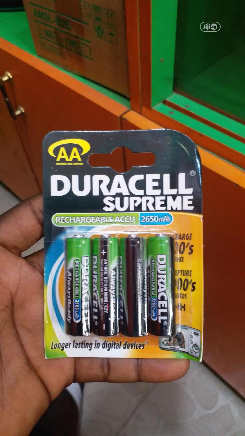 Duracell Battery AAA And AA Both Alkaline | Accessories & Supplies for Electronics for sale in Lagos Island, Lagos State, Nigeria