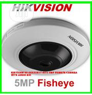 Hikvision Ds-2cc52h1t-fits 5mp Fisheye Camera With Audio Mic | Security & Surveillance for sale in Lagos State, Ikeja