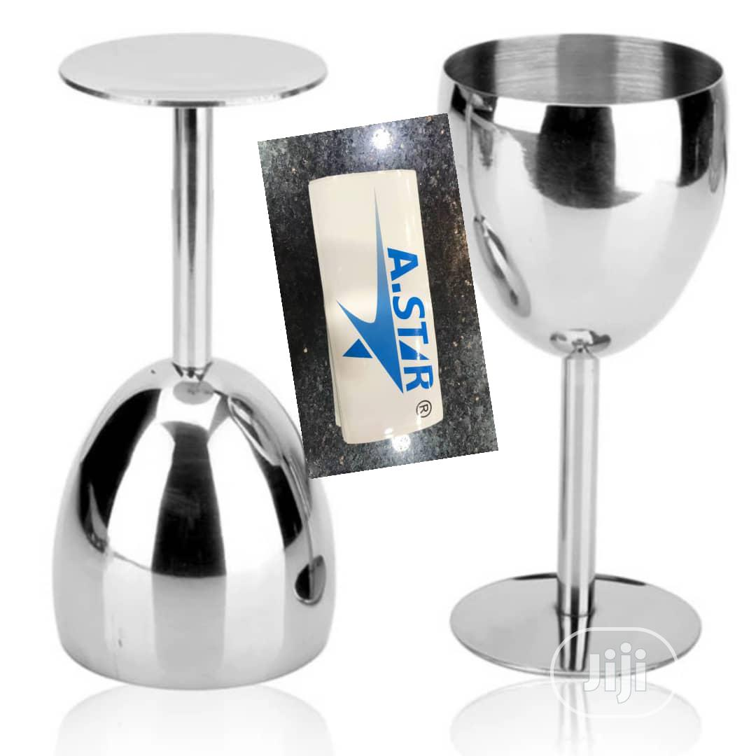 Stainless Wine Cup