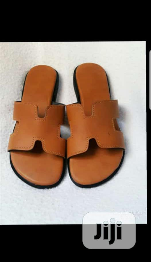Leather Slippers | Shoes for sale in Gbagada, Lagos State, Nigeria