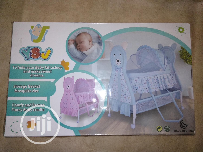 Newborn Baby Crib Bed Bassinet Stroller | Children's Furniture for sale in Mushin, Lagos State, Nigeria
