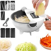 9 in 1 Drain Basket Veggie Chopper/Cutter | Kitchen & Dining for sale in Lagos State, Ikeja