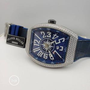 Franck Muller Automatic Full Ice Leather Strap Watch   Watches for sale in Lagos State, Lagos Island (Eko)