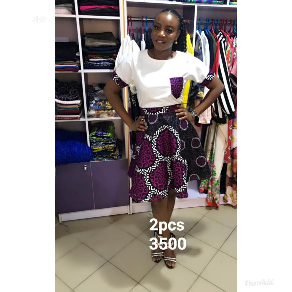 Archive: 2pcs Skirt a Matching Top