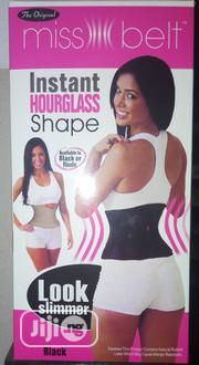 Miss Belt Instant Hourglass Shaper Black S/M | Makeup for sale in Abuja (FCT) State, Wuse 2