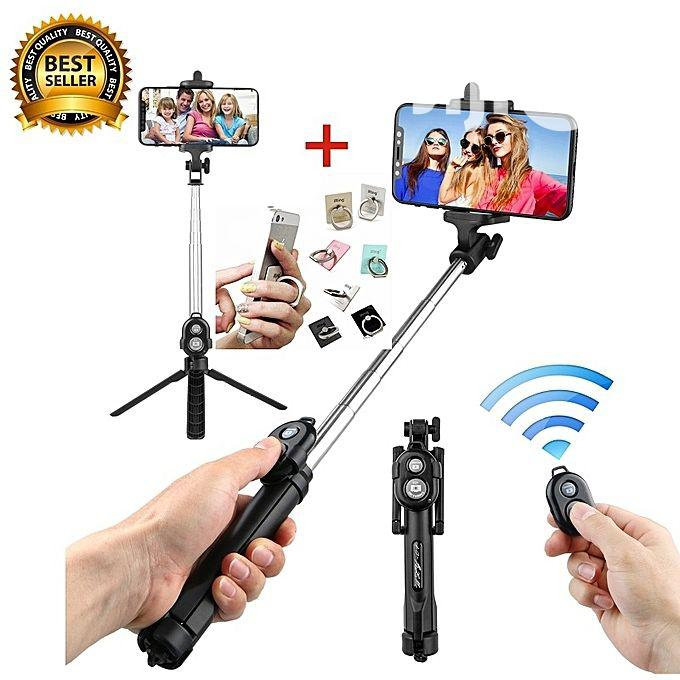 Selfie Stick Remote Bluetooth Shutter Tripod