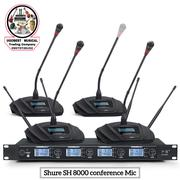 (8 In 1) Wireless Conference MICROPHONE Shure SH 8000 | Audio & Music Equipment for sale in Lagos State, Mushin