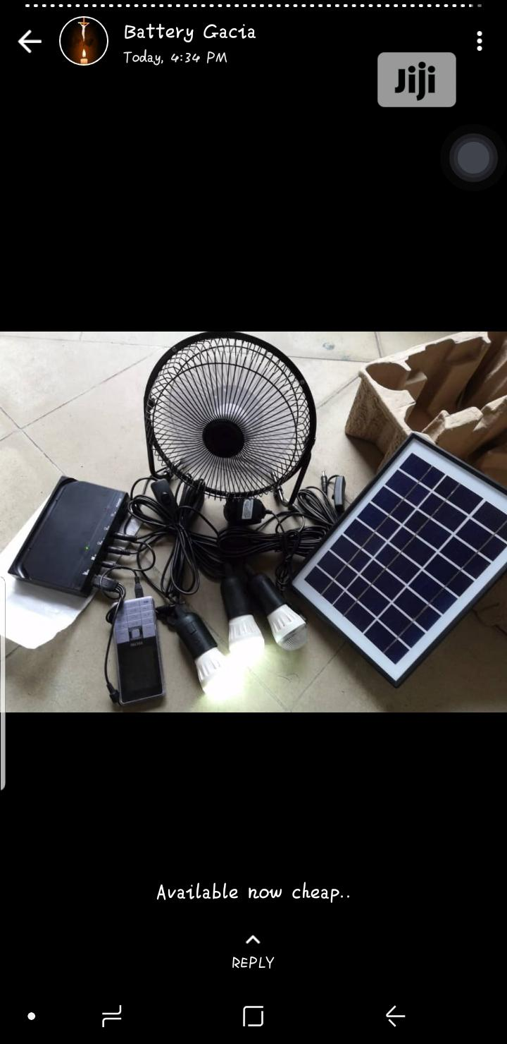 Solar Lights and Fan | Solar Energy for sale in Ojo, Lagos State, Nigeria