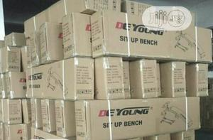 Sit Up Bench With Resistance Band And Dumbell | Sports Equipment for sale in Kogi State, Lokoja