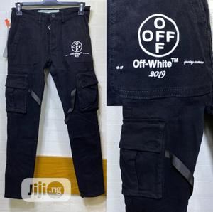Original Off White Jeans Now Available In Store   Clothing for sale in Lagos State, Lagos Island (Eko)