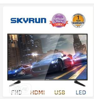 """Skyrun 43"""" LED- FHD TV With Wall Bracket - Black 