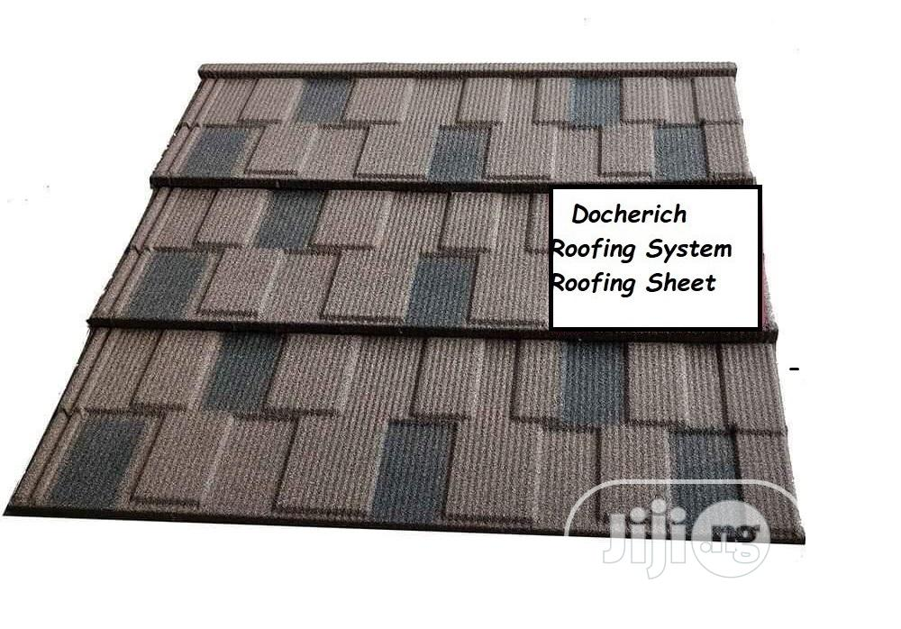 Roofing Sheet From Docherich Nigeria Limited, We Supply Stone Coated