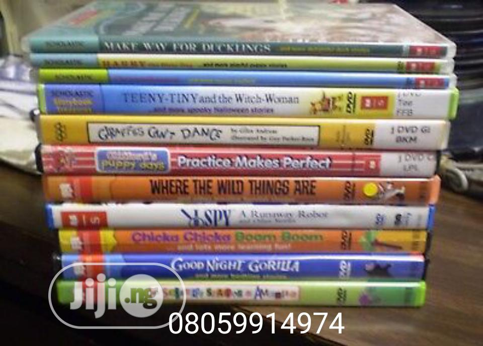 Educational E-learning Dvd For Children Preschool Elementary | Child Care & Education Services for sale in Ajah, Lagos State, Nigeria