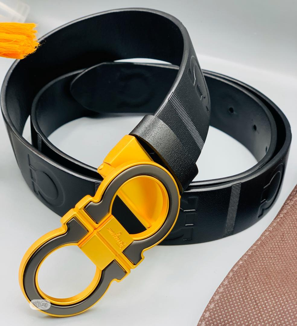 Ferragamo Leather Belt | Clothing Accessories for sale in Surulere, Lagos State, Nigeria