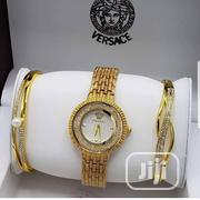 Complete Set Female Gold Wrist Watch | Watches for sale in Lagos State, Lekki Phase 1